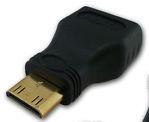 Переходник видео mini HDMI->HDMI