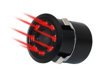 Камера заднего вида Podofo, внутренняя, 8 диодов, с инфракр. подсветкой, черный (без кабелей)