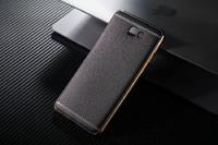 Чехол-накладка на Samsung J5 Prime силикон, под кожу, черный
