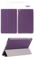 Чехол Smart-cover для Apple iPad mini 4, полиуретан, фиолетовый
