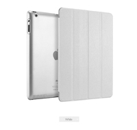 Чехол Smart-cover для Apple iPad 2/3/4, полиуретан, белый