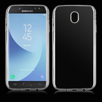 Чехол-накладка на Samsung J5 (J530) (2017) силикон, ультратонкий, прозрачный