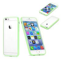 Чехол-накладка на Apple iPhone 5/5S, силикон, пластик, бампер, глянцевый, зеленый