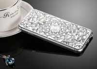 Чехол-накладка на Apple iPhone 7/8, силикон, кристалы, прозрачный