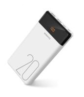 Портативный аккумулятор PowerBank 20000mAh, Romoss LT20, 2xUSB(mUSB, Lighthing, TypeC), LCD