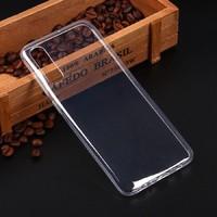 Чехол-накладка на Samsung A70s (A707) (2019) силикон, ультратонкий, прозрачный