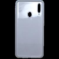 Чехол-накладка на Samsung A20s (A207) (2019) силикон, ультратонкий, прозрачный