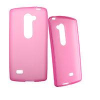 Чехол-накладка LG Leon (H324), силикон, розовый