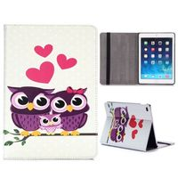Чехол Smart-cover для Apple iPad Air, полиуретан, 2 owls love