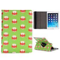 Чехол Smart-cover для Apple Ipad Air 2, полиуретан, вращающийся, owl green