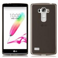 Чехол-накладка LG G4S силикон, серый