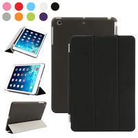Чехол Smart-cover для Apple Ipad Air, полиуретан, черный