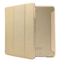 Чехол Smart-cover для Apple iPad mini 1,2,3, полиуретан, золотистый