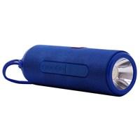 Портативная колонка, T&G TG-604, Bluetooth, USB, mSD, AUX, FM, фонарик, синий