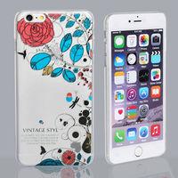 Чехол-накладка на Apple iPhone 6/6S Plus, пластик, прозрачный, pic 1
