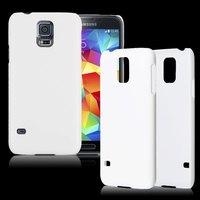 Чехол-накладка на Samsung S5 пластик, белый