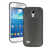 Чехол-накладка на Samsung S4 mini пластик, 0,3мм, черный
