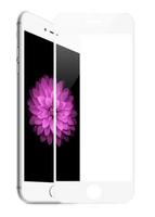 Защитное стекло Apple iPhone 6/6S Plus на дисплей, 4D, белый