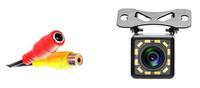 Камера заднего вида Podofo, внешняя, 12 диодов, черный