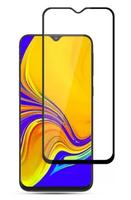 Защитное стекло для Samsung Galaxy A30 (A305) (2019) на дисплей, с рамкой, черный