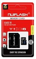 Карта памяти MicroSDHC 32GB Nuiflash, Class 10 (с SD адаптером)