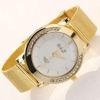 Часы наручные Geneva, ц.белый, р.золотистый, металл