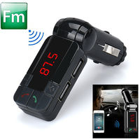 FM-модулятор, Noname, Bluetooth, 2xUSB, aux