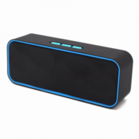 Портативная колонка, Орбита H-955, Bluetooth, USB, FM, AUX, microSD, встроен.+BL-5C, черный