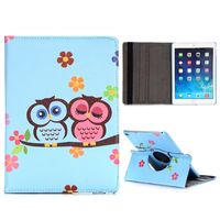 Чехол Smart-cover для Apple Ipad Air 2, полиуретан, owl blue