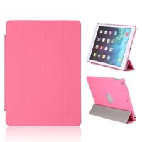 Чехол Smart-cover для Apple iPad Air, полиуретан, вырез., розовый