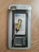 Чехол-накладка на Apple iPhone 4/4S, пластик, taxfone