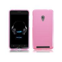 Чехол-накладка для Asus Zenfone 5 силикон, розовый