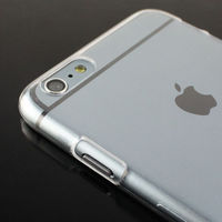 Чехол-накладка на Apple iPhone 6/6S, пластик, прозрачный
