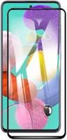 Защитное стекло Samsung Galaxy A21s (2019) на дисплей, с рамкой, 4D, черный