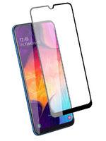 Защитное стекло Samsung Galaxy A41 (2020) на дисплей, с рамкой, 4D, черный