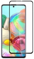 Защитное стекло Samsung Galaxy A21s (2019) на дисплей, с рамкой, 3D, черный