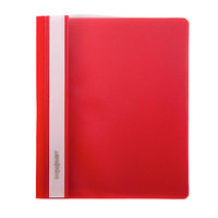 Скоросшиватель для файлов, inФОРМАТ, пластиковый, 150мкм, красный