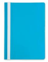 Скоросшиватель для файлов, Lite, пластиковый, 110мкм, синий