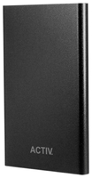 Портативный аккумулятор PowerBank 3000mAh, Activ Vitality, черный