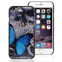 Чехол-накладка на Apple iPhone 6/6S, пластик, butterfly 2
