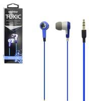 Наушники Smart Buy TOXIC, вакуумные, внутриканальные, 16-20 кГц, 1.2 м, синий (SBE-2720)