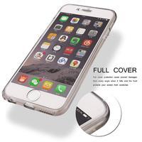 Чехол-книжка на Apple iPhone 6/6S, силикон, серый