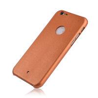 Чехол-накладка на Apple iPhone 5/5S, пластик, Alligator, под кожу, золотистый