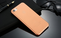 Чехол-накладка на Apple iPhone 7/8 Plus, пластик, ультратонкий, матовый, оранжевый