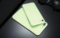 Чехол-накладка на Apple iPhone 7/8 Plus, пластик, ультратонкий, матовый, зеленый
