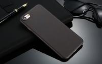 Чехол-накладка на Apple iPhone 7/8 Plus, пластик, ультратонкий, матовый, черный