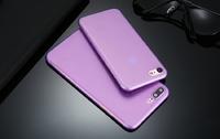 Чехол-накладка на Apple iPhone 7/8 Plus, пластик, ультратонкий, матовый, фиолетовый