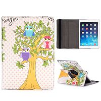 Чехол Smart-cover для Apple Ipad Air 2, полиуретан, owl tree