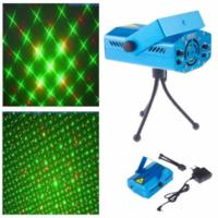 Лазерная установка XX-027, точки, синий