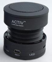 Портативная колонка Activ MP002, microSD, черный